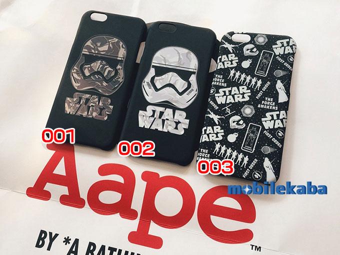 iPhoneX エーエイプAape ファッションエーエイプiphoneX/iPhone8/7/6sケース