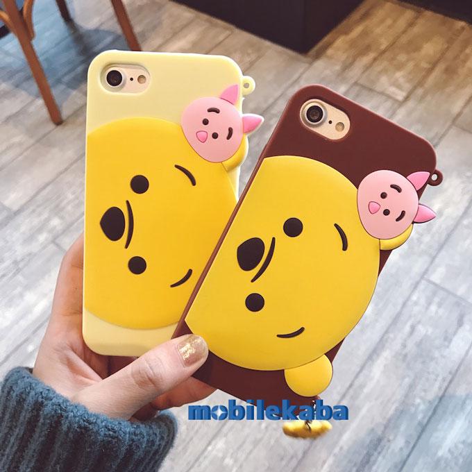 ディズニーiPhoneX/8Plus/iphone7 プーさん