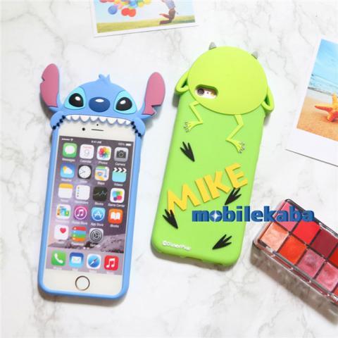 スティッチ Stitch iPhone8 ケース シリコン 立体 ディズニー Disney ...
