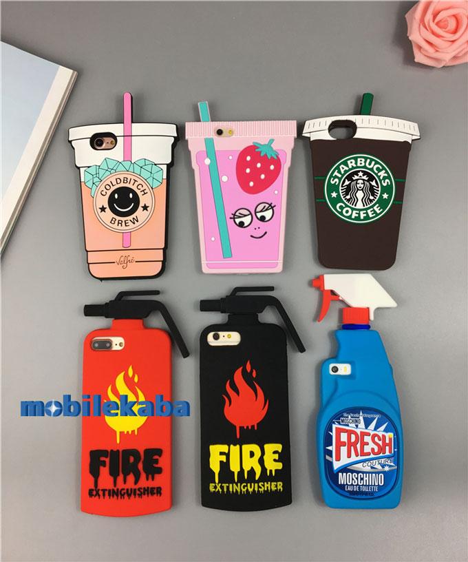 洗剤ボトル型 消火器型 飲料型 スターバックス型 モスキーノ moschino 欧米風 ブランド おもしろ シリコン製