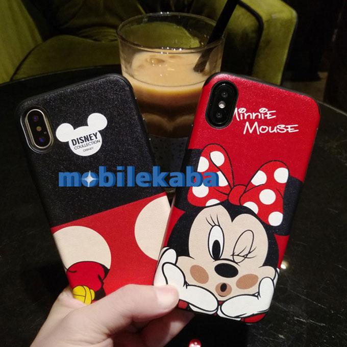 ミッキー ミニー 恋人ディズニーiPhoneX/8Plus/7ケース